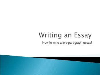 How to Write an Essay: 10 Easy Steps - Old workpage of